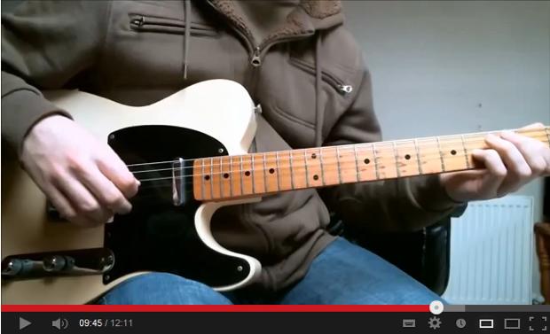 Youtube Guitar Teaching Videos Closup