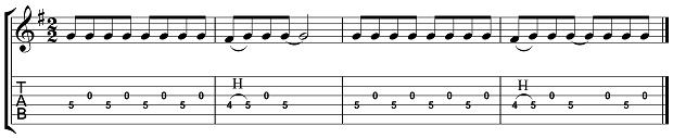 RGT Country Mood Lesson Exercise 1