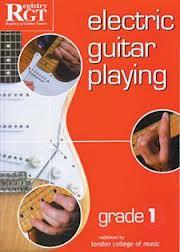 RGT Grade 1 Electric Guitar Backing Tracks - Registry of