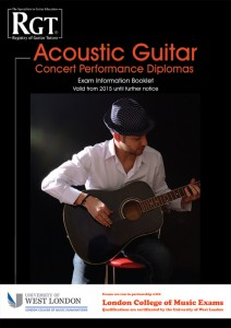 Acoustic Guitar Concert Diplomas Exam Information Booklet
