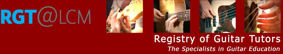 Registry of Guitar Tutors