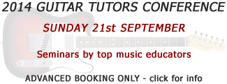 guitar teacher conference