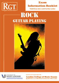 Rock guitar grade exams